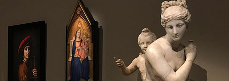 "Opening of the exhibition ""A Dream of Italy: The Marquis Campana's Collection"" in the Louvre"