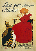 For the Day of the Hermitage Сat - 2013  Cats of Theophile Alexandre Steinlen