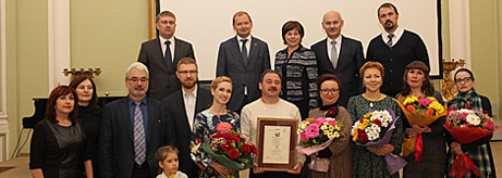 Presentation of the Iskuskny Glagol Prize in memory of Vladimir Matveyev in Omsk