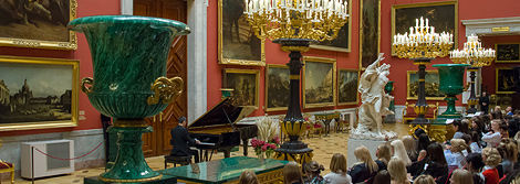 Solo concert by Dmitry Shishkin in the Hermitage