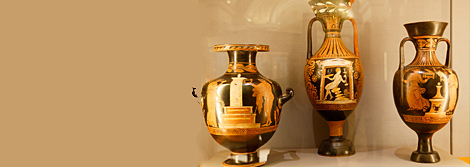 "Opening of the Hall of Vases and the Permanent Display of the Department of Classical Antiquity ""Ancient Painted Ceramics"""