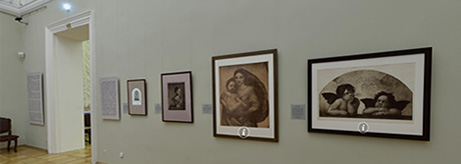 "Virtual tour of the exhibition ""Photographic Reproductions in the Second Half of the 19th Century. Photographs of Raphael's Paintings in the Hermitage Collection"""